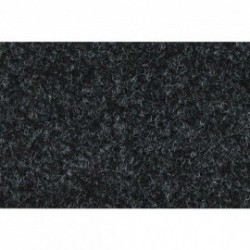 Mecatron potahová látka samolepící černá 0,7x1,5m