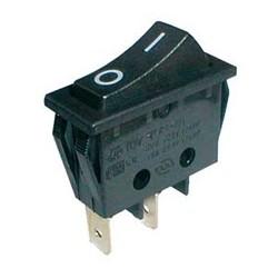 Přepínač kolébkový 250V s krytem