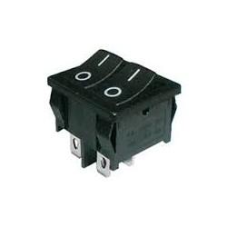 Přepínač kolébkový dvojitý 12V